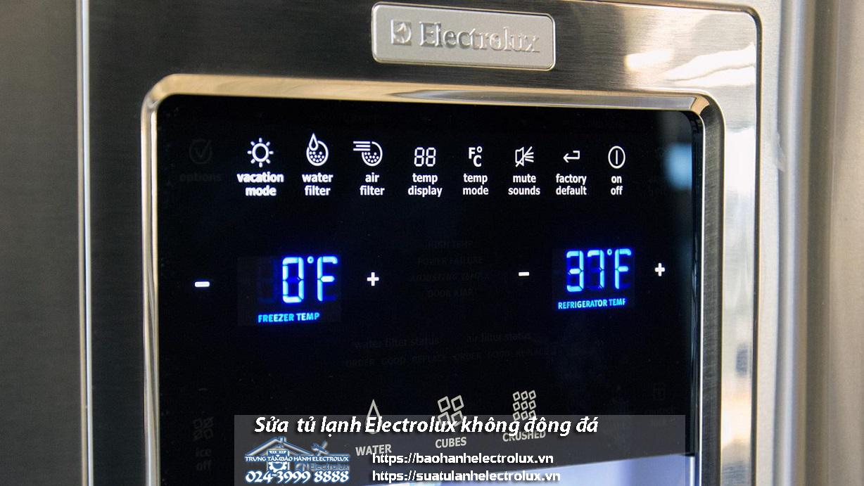 Điều chỉnh lại nhiệt độ cho tủ lạnh Electrolux